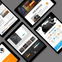 Bri Responsive Website Design